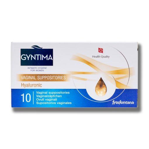 Gyntima hüvelykúp Hyaluronic 10x